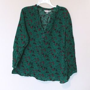 Old Navy Floral Print Tunic